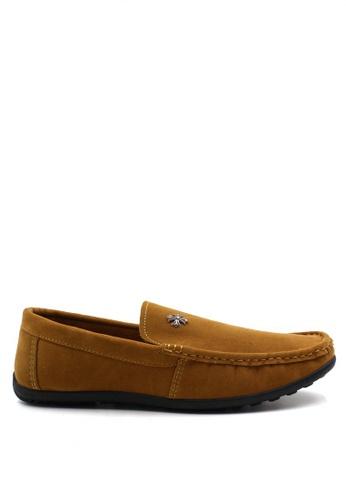 London Fashion brown Desmond M021 Formal Shoes   LO229SH02ZLPPH_1