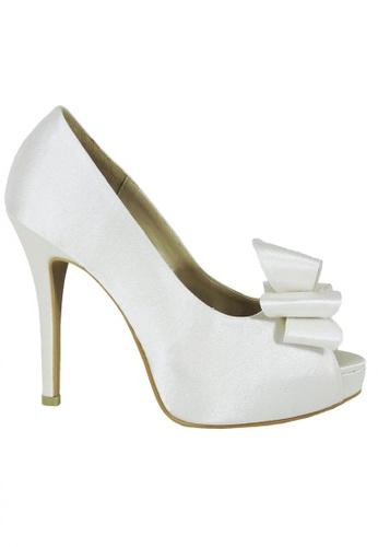 Jacque white Titan White Heels JA262SH76MAPMY_1