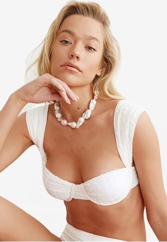 Trendyol white Wide Strap Bikini Top 5A89FUS25551B2GS_1