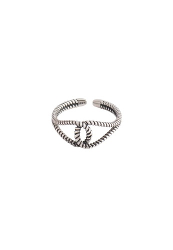 A-Excellence silver Premium S925 Sliver Twisted rope Ring A7909AC8C2D159GS_1