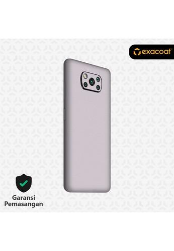 Exacoat Poco X3 Pro / NFC Skins 3M Skin / Garskin - Mystic Lilac - Cut Only 8C626ES04FC10FGS_1