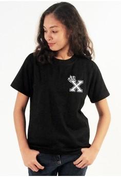 Queen's Initial X Tee