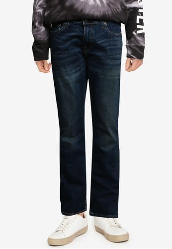 Hollister blue Boot Cut Jeans 588FAAA3BF7F49GS_1