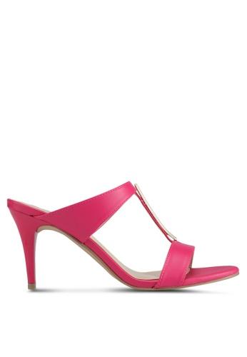 VINCCI pink Slip On Heels 142CBSHF7CBACFGS_1