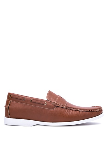 Italianos brown Gregory Loafers IT153SH78OYRPH_1
