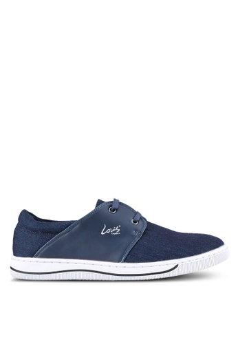 Louis Cuppers blue and navy Luois Cuppers Shoes LO977SH0S9SKMY_1