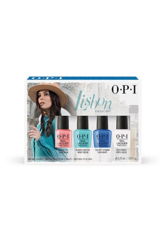 O.P.I multi DCL03 - Spring 2018 NAIL LACQUER DEALS Mini 4 Pack 9DF1BBED53F46AGS_1