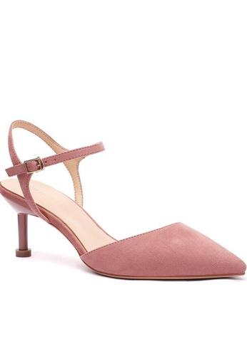 Twenty Eight Shoes 繞踝帶幼踭鞋196-30 84585SH122C210GS_1