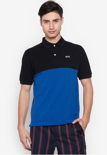Le Tigre black Men's Classic Polo Shirt BC275AA64A3BB6GS_1