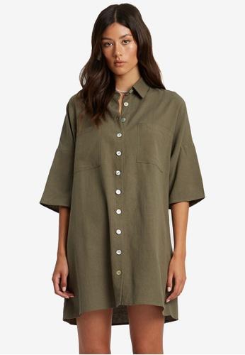 St MRLO green Cape May Dress 23DB0AA9FDB435GS_1