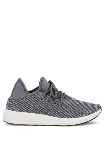 London Rag grey Lace up Sneaker SH1683 70D56SH2378393GS_1