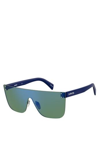 Levi's green Lv 1001/S Sunglasses B4FE0GLE541042GS_1