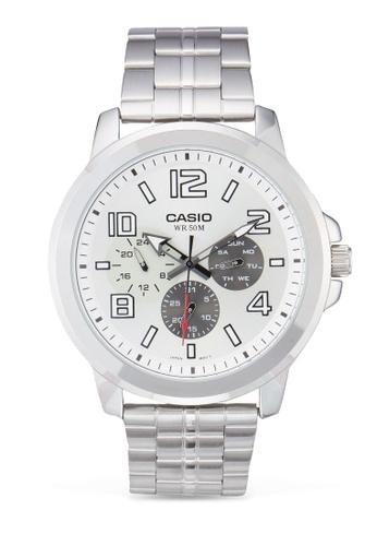 Casio silver Casio Men's Analogue Watch CA843AC88MADMY_1