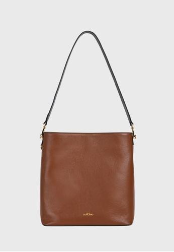 Tocco Toscano brown Lunar Feed Bag (Rust) E77E6ACC8633A5GS_1