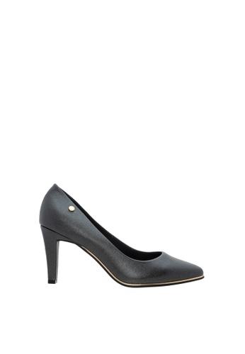 SEMBONIA black Women Synthetic Leather Court Shoe 5C191SH751BD77GS_1