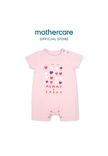 Mothercare pink Mothercare Baby pink mummy and daddy rompers - Terusan Bayi Multicolour CD2CCKA72DEED1GS_1