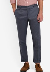 Selected Homme grey Sleek Trousers SE364AA85EGKMY_1