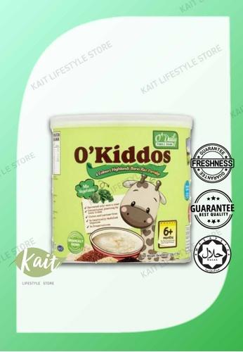 Kait Lifestyle O'DAILY O'Kiddos 4 Colour Bario Rice Porridge [HALAL] (220g) - Mix Vegetable 0EC17ES4875212GS_1