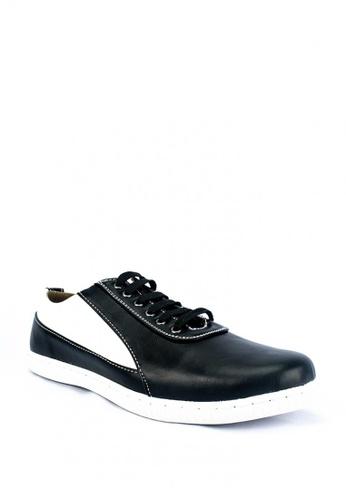 Mario D' boro Runway black Glen Sneakers 15002SHE8ED710GS_1