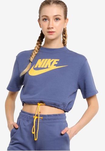 Nike blue AS W NSW Icon Clash Top 6E2A3AAE915982GS_1