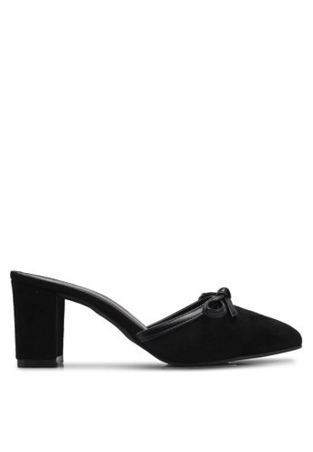 Spiffy black Evening Trendy Block Heels SP352SH0SRYCMY_1
