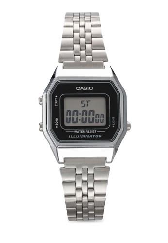 復古風多邊框電子女錶, 錶類, 飾esprit 香港 outlet品配件