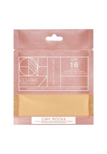 Ellana Mineral Cosmetics white Loose Mineral Foundation Refill Only - Café Mocha EL322BE98PAVPH_1