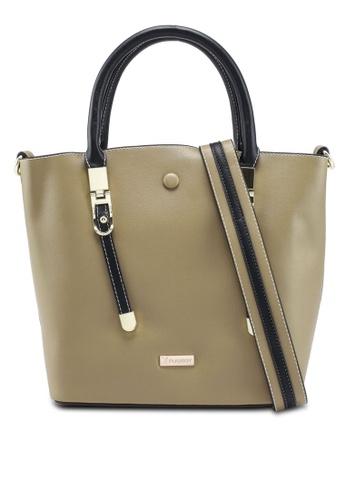 PLAYBOY BUNNY green Ladies Handbag/Sling Bag 847FCACC195580GS_1