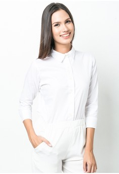 Zahra Quarter Sleeves Top