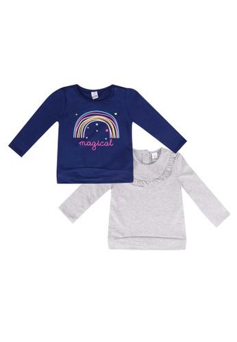 LC Waikiki navy 2-Pack Baby Girl Sweatshirt 68102KAB462E93GS_1