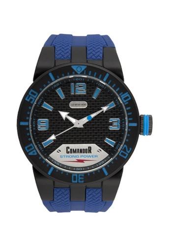 Sk Time Watch Shop blue Comandor C148-1-17-70 Water Resistant Sport Watch 51959ACD228F42GS_1