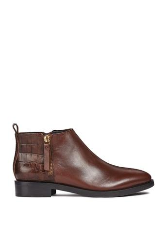 Buy Geox Donna Brogue Ankle Boots  7098d44d9c9d