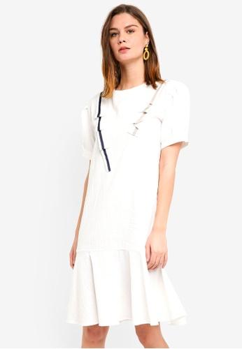 Haute Kelly white Dae Dress 4E4CDAAEBD6D27GS_1