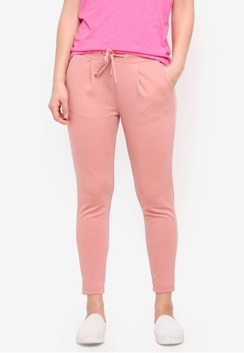 ICHI pink Kate Pants EBCC3AAC1A9218GS_1