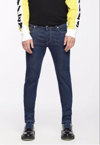 Diesel blue Sleenker Skinny Slim Jeans CBEA2AAC646990GS_1