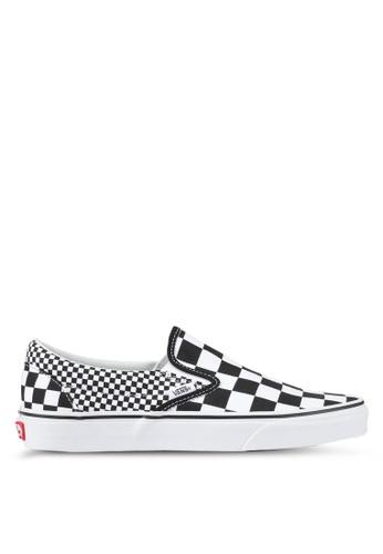 VANS black and white Slip-On Mix Checker VA142SH0SWR6MY_1