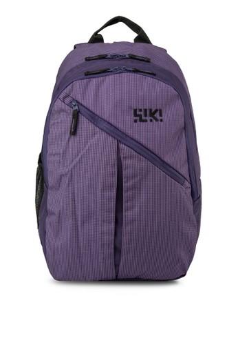 Stesprit outletoppie 撞色內襯後背包, 包, 旅行背包