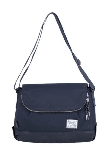 Caterpillar Bags & Travel Gear black Essential Rebel Round Shoulder Bag CA540AC24EZZHK_1