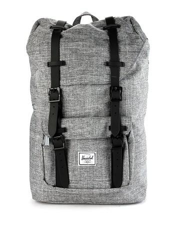Herschel grey Little America Mid-Volume Backpack 04DE7AC750EA84GS_1