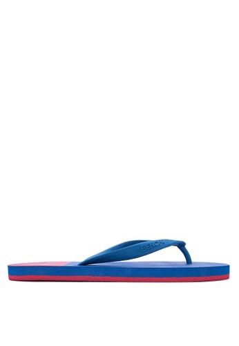 BENCH blue Basic Rubber Slippers BE550SH02LTTPH_1