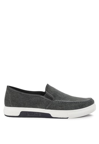 Declan grey Bram Slip On Sneakers B989ASH6CC924DGS_1