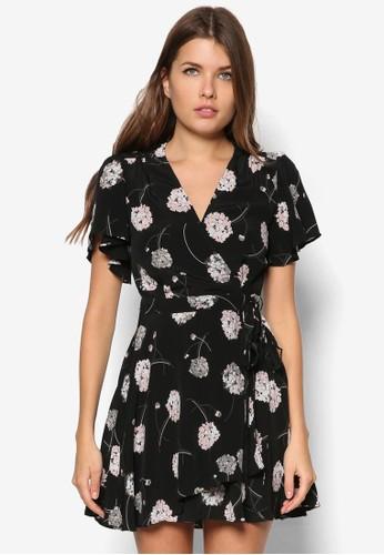 Petite 花卉裹飾洋裝, 服zalora 男鞋 評價飾, 洋裝