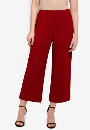 ZALIA BASICS 紅色 Basic Culottes B820FAA751389BGS_1