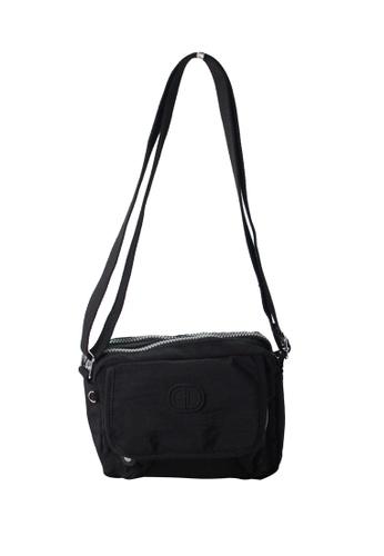G.DAVIN black G.Davin Nylon Crossbody bag 2D6FFAC758D53DGS_1