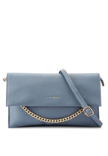 PLAYBOY BUNNY blue Clutch Sling Bag 50771AC59EDFCAGS_1