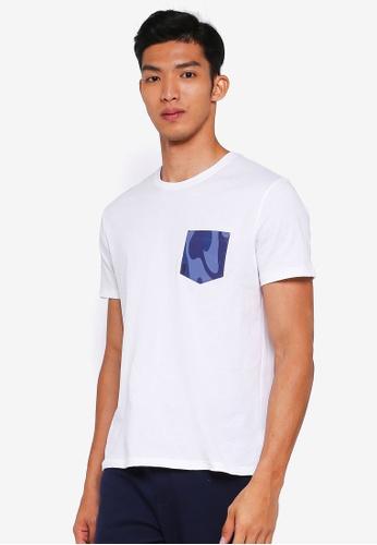 GAP white Fall Novelty Gap Logo Tee AB83BAA599A990GS_1