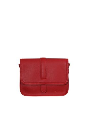 Verchini red Verchini Satchel Sling Bag 1E2D1AC797CB84GS_1