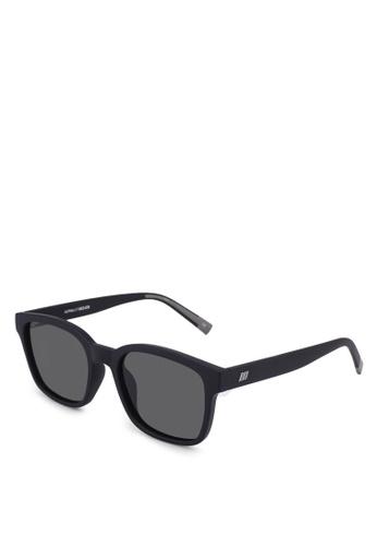 Le Specs black Alpha Sunglasses BCDA4GL9D87910GS_1