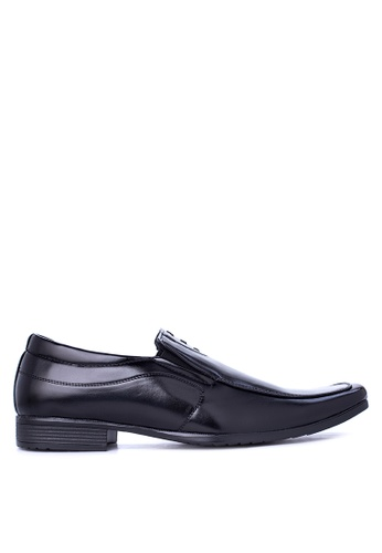 Italianos black Gene Formal Shoes IT153SH05GCOPH_1