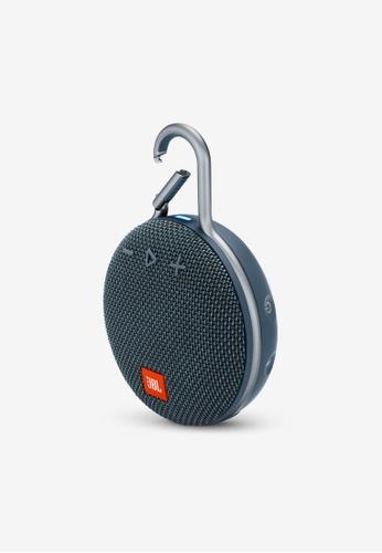 JBL blue JBL Clip 3 Portable Waterproof Bluetooth Speaker E1868AC4918226GS_1